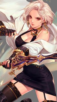 女鬼剑 DNF 剑豪 人物 角色