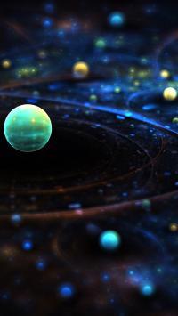 宇宙行星 星空 星球