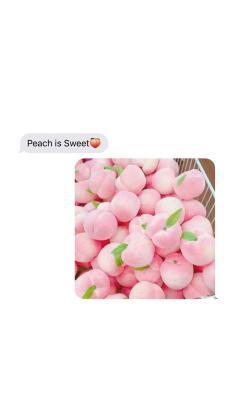 创意壁纸 粉色桃子 peach is sweet