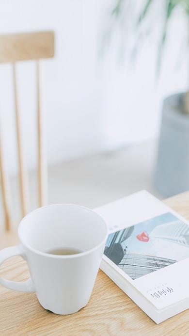 惬意 休闲 午后 轻松 小清新 书本 茶