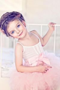 俄罗斯 模特 米兰库尔尼科娃 粉色 小公主 芭蕾