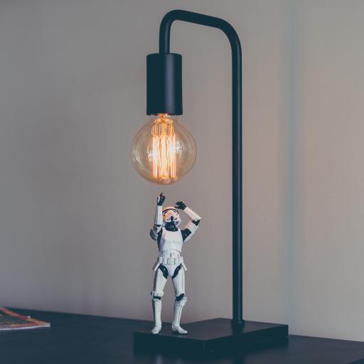 创意家居装饰 台灯 机器人