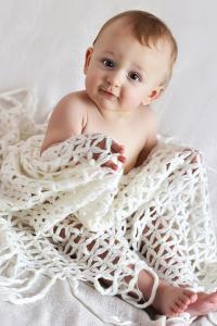 宝宝 婴儿 萌 可爱 欧美 蓝眼睛