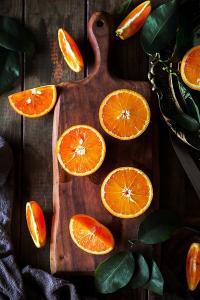 橙子 叶子 水果 维生素 健康 营养