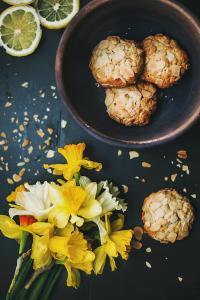曲奇 食物 柠檬 鲜花 坚果 甜点 点心