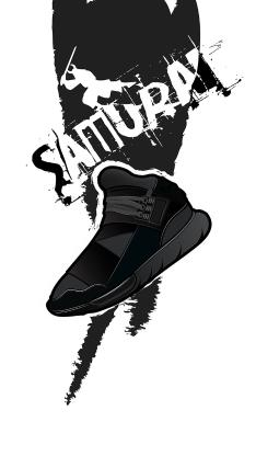 鞋子 潮牌 NIKE samurai