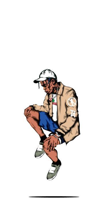 插画 创意 男生 帽子