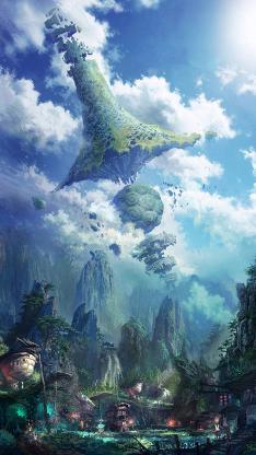 剑灵 游戏 风景 网游