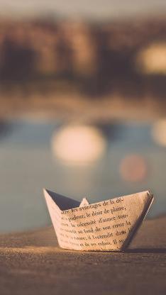 纸船 折叠 创意 手工