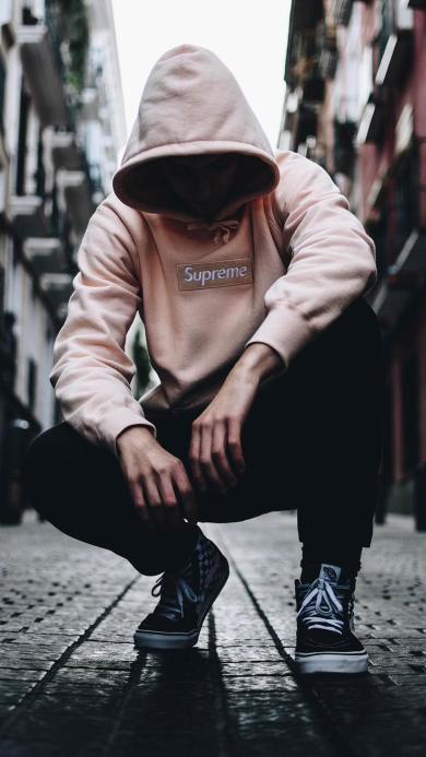 潮男 潮流 时尚 品牌 运动 休闲 男孩
