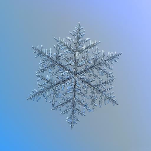 雪花 冰雪 结晶 下雪
