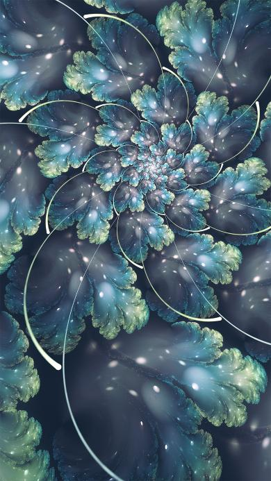 绽放 抽象 花朵 梦幻 空间