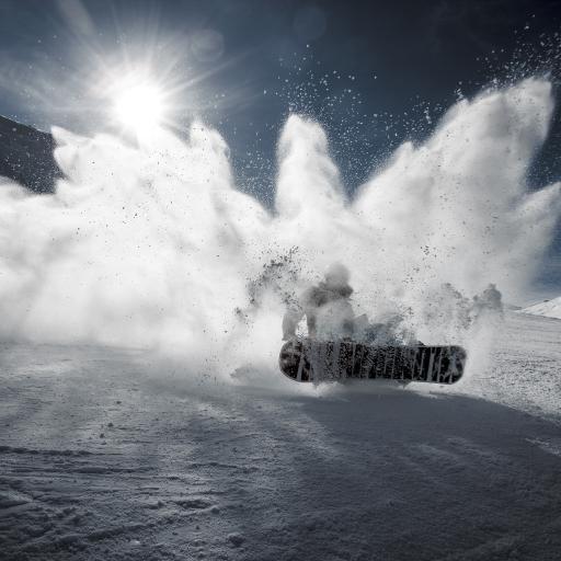 滑雪 运动 滑板 雪山 极限