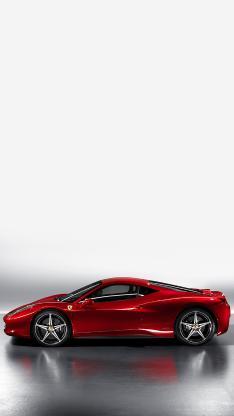 法拉利458 双门 红色 超跑 赛车 跑车