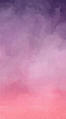 渐变 粉色 水彩 简约 少女