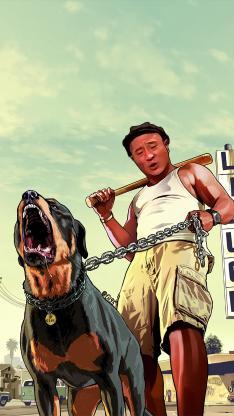 赵四 遛狗 铁链 手绘 乡村爱情 东北F4