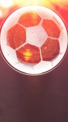 创意 足球 旋转 踢球