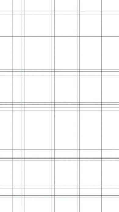 方格 线条 简约 黑白