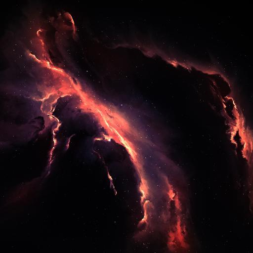 星系 太空 宇宙  色彩 炫酷