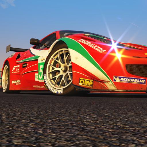 红色赛车 竞速 炫酷