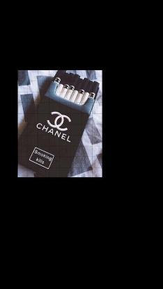 香烟 香奈儿 Chanel 插画