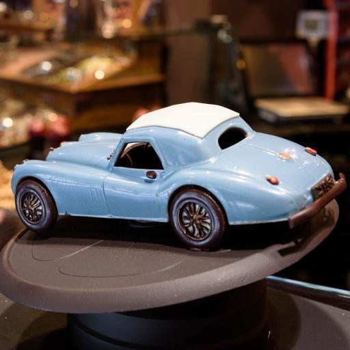 汽车小摆件 天蓝色 创意