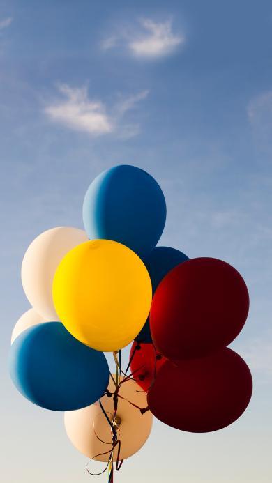 气球 天空 色彩 其它