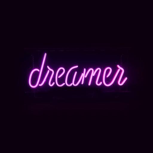 dreamer 梦想者 灯光 黑色