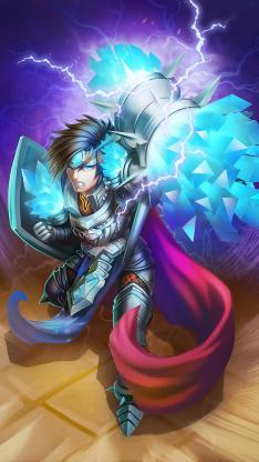英雄联盟 传宝石骑士 角色 lol 撸啊撸