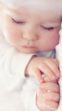 睡梦 甜美 可爱 宝宝 婴儿 baby