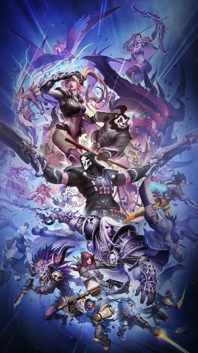 魔兽世界 人物 海报 帅气