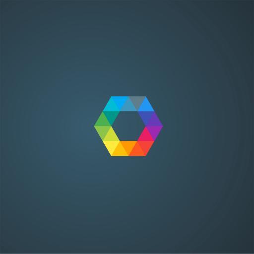 logo 创意 色彩 简约