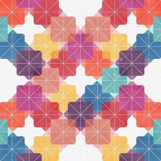 色彩 色块 方块 组合 形态