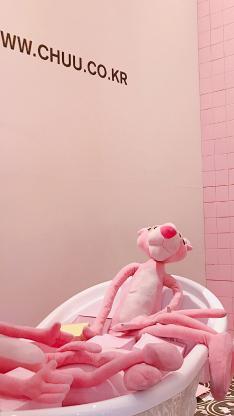 粉红顽皮豹粉色 玩偶