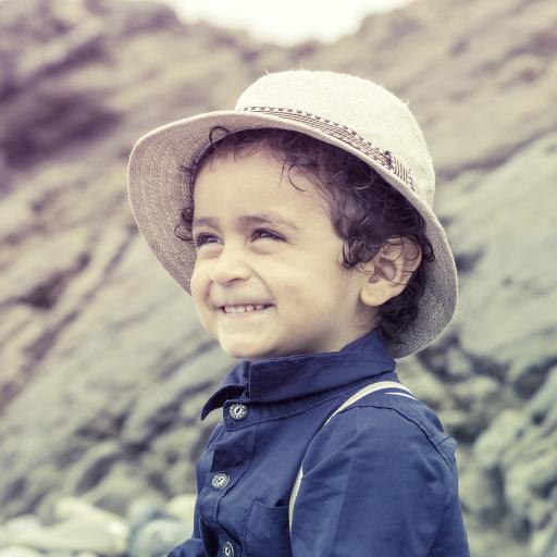 外国小萌娃 男孩 笑容可爱
