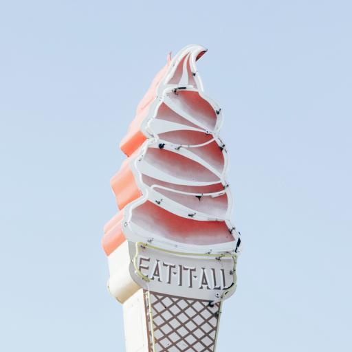 建筑 招牌 冰淇淋 甜品