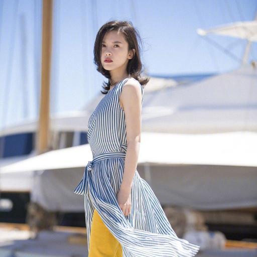 杨子珊 演员 明星 户外
