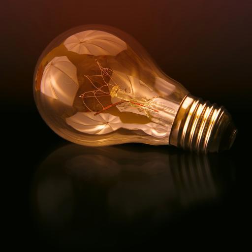 灯泡 钨丝 照明 光亮