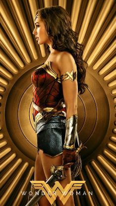 神奇女侠 盖尔加朵 戴安娜·普林斯 电影 海报