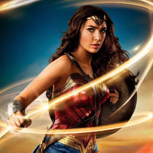 神奇女侠 盖尔加朵 女神 戴安娜·普林斯 电影 海报