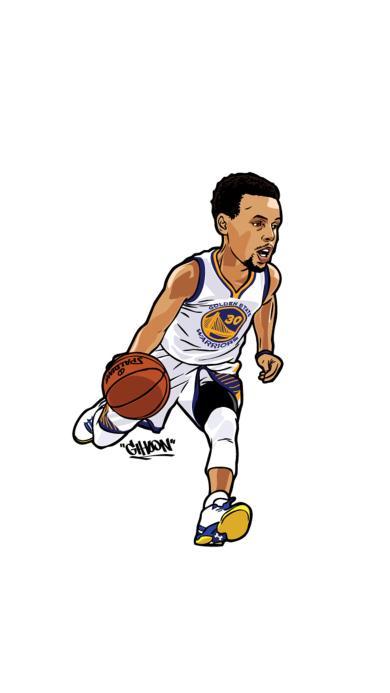 库里 NBA 篮球 运动员 球星