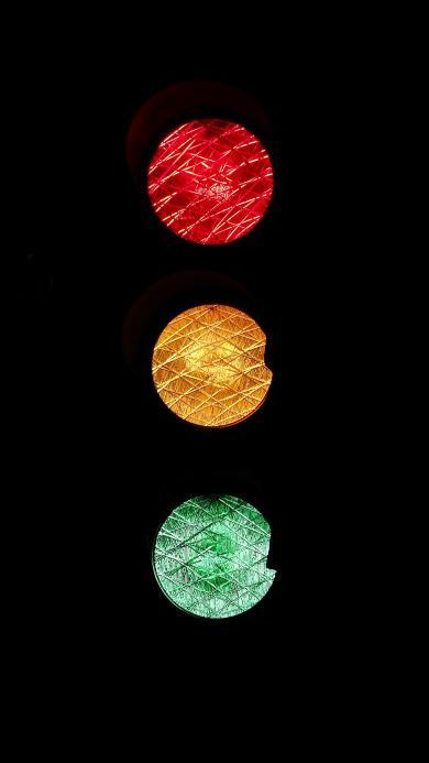 创意 色彩 红黄绿  红绿灯