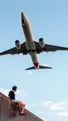 飞机 飞行 天空 航空