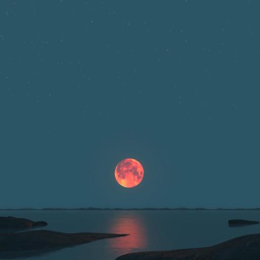落日 夜晚 太阳 夕阳