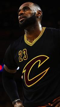勒布朗 詹姆斯 篮球 运动员 NBA 球星