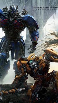 变形金刚5 最后的骑士 科幻 海报 电影 大黄蜂
