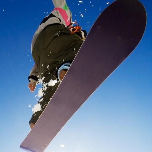 滑雪 滑板 体育 运动