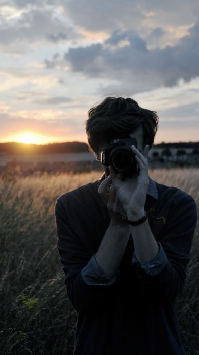 相机 创意 男生 摄影
