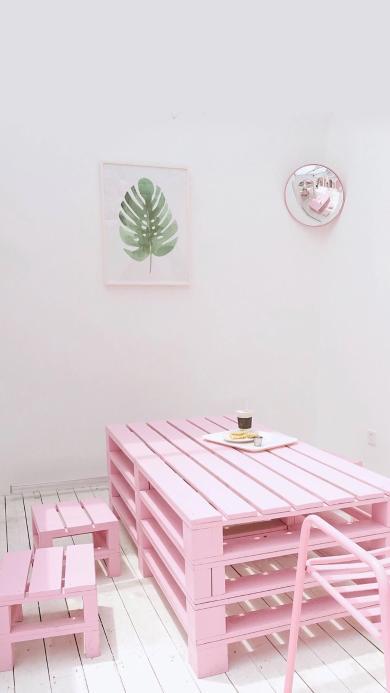 家居 粉色 清新 家具