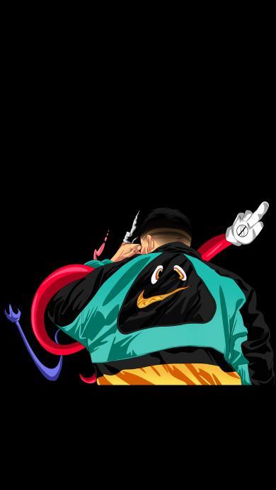 Nike 创意 嘻哈 卫衣